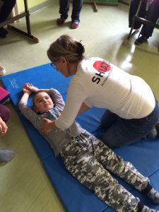 Samurai Shiatsu Behandlung für Kinder an der ASO / ZIS Hollabrunn